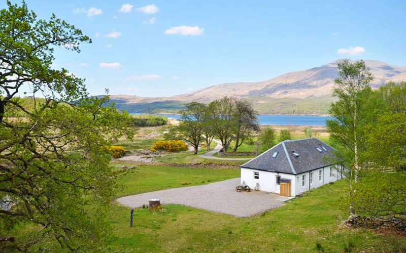 Lochside Sunart, Scotland