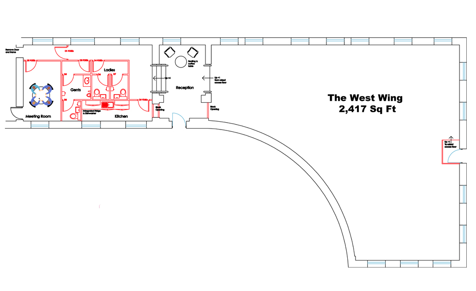 West Wing Plans